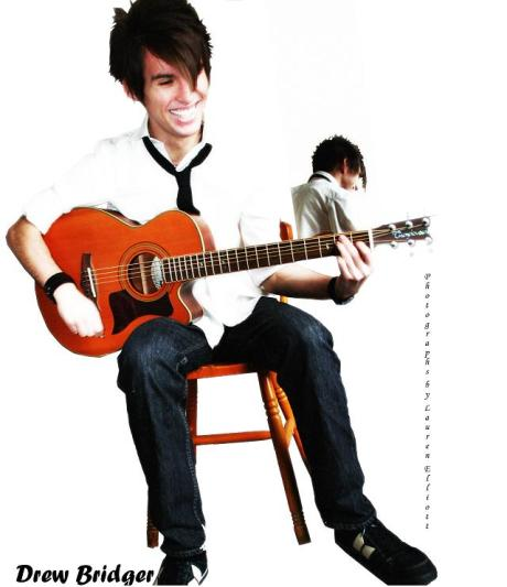 Drew With Guitar 1